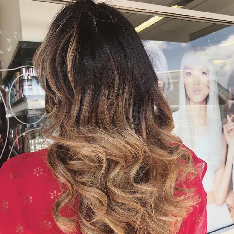 Hair Style - Balayage hair colour image