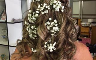 Wedding hair style Kimberly image