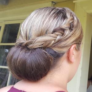 Hair Scene - Special Occasion Hair - Chignon