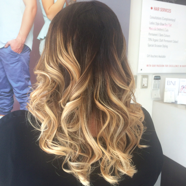 Hair Scene - Special Occasion Hair Style - GHD Curls