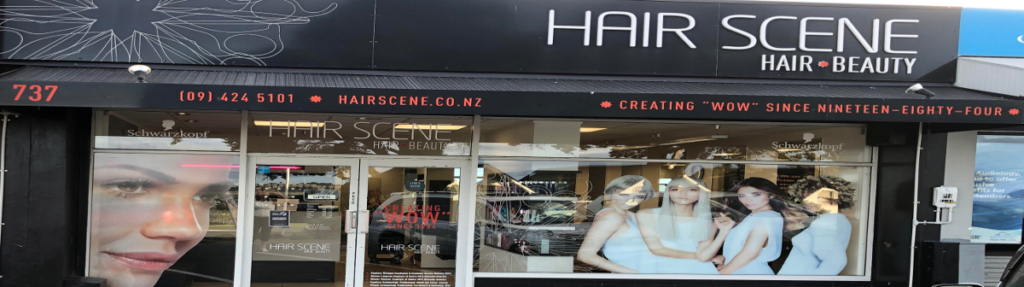 Hair Scene Salon Shop Front