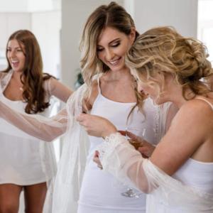 Hair Scene - Bridal Party Wedding Hair