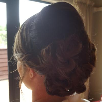 Wedding Hair - Dark Hair image