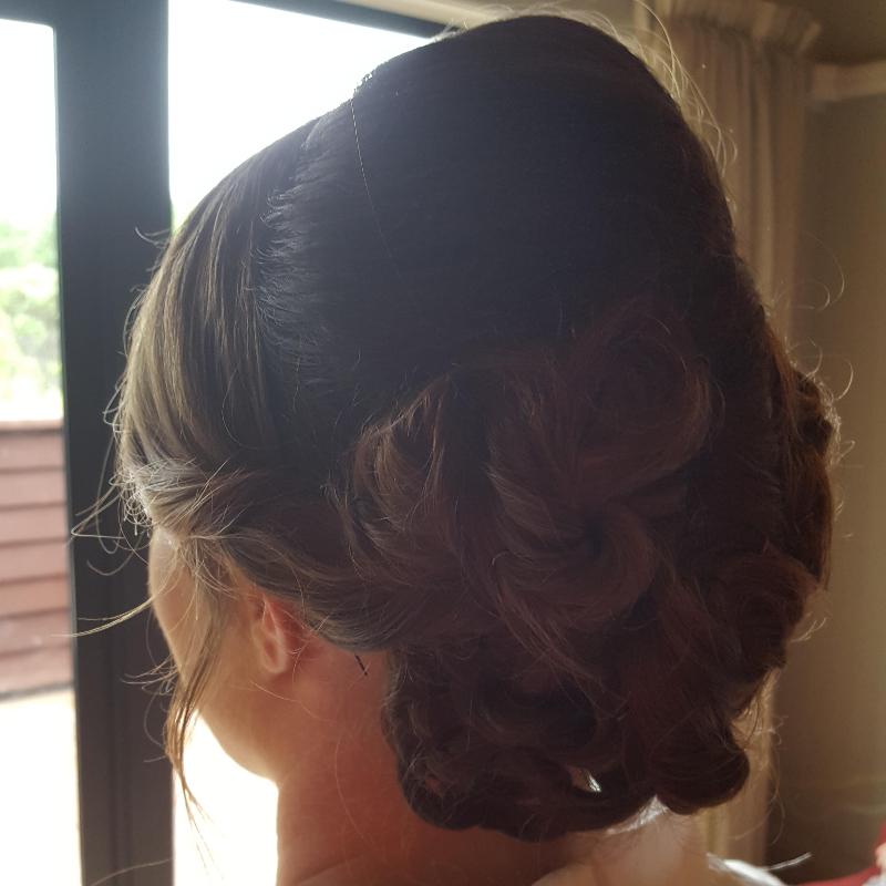 Hair Scene - Wedding Hair - Dark Hair