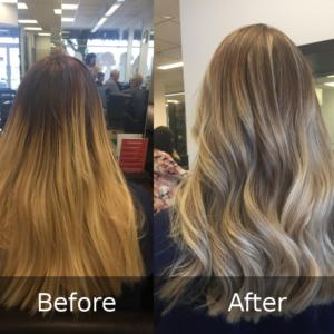 Hair Scene - Colour Correction - Balyage