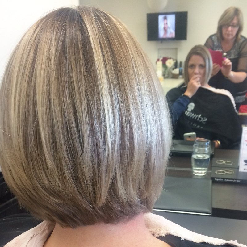 Short coloured hair style image