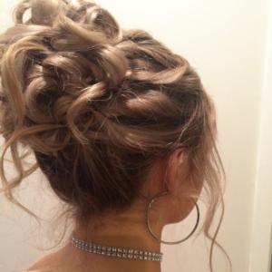 Hair Scene - School Ball Hair Style