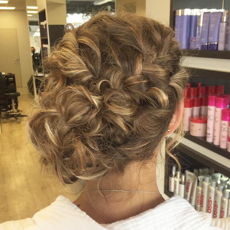 Hair Scene - School Ball hair style (hair up)