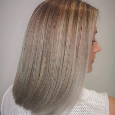 Hair Scene - Medium length hair - Straight