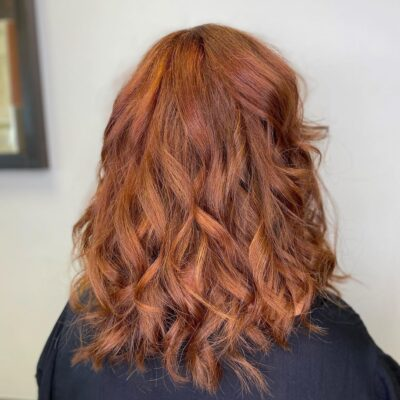 Hair Scene - Dark to Copper Hair