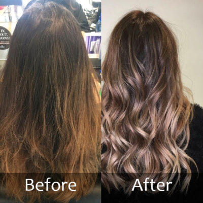 Balyage- Before and After