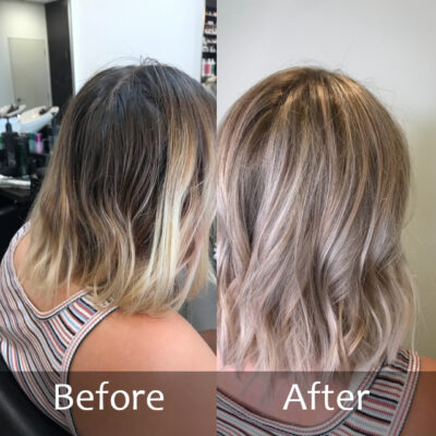 Colour Medium-Before and After