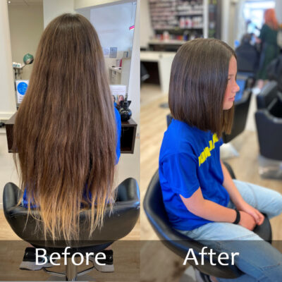 Kids - Short Hair -Before and After